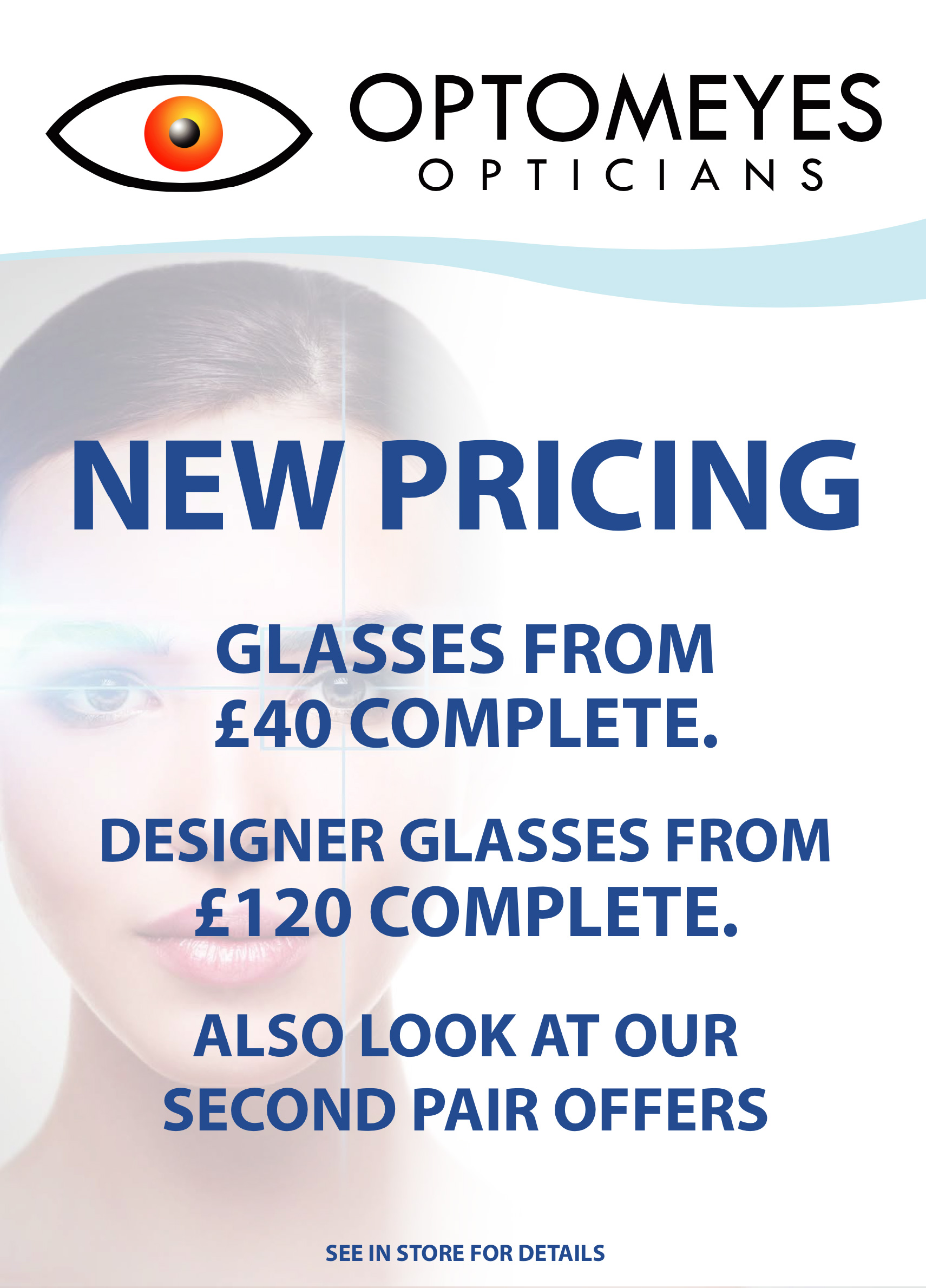 Optomeyes new pricing August 2019
